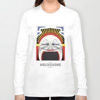 melbourne Long Sleeve T-shirts featuring Melbourne by George Williams