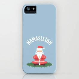 Namasleigh Yoga Mat iPhone Case