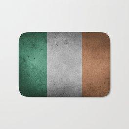Irish Flag Grunge Bath Mat