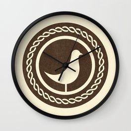 Classical Notation Wall Clock