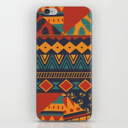Tribal Abstract Wallpaper iPhone Skin