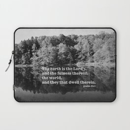 Psalm 24:1  Laptop Sleeve