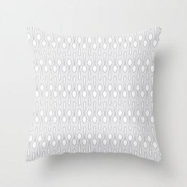 Kitchen Spoon Silhouette Throw Pillow