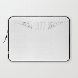 Oldscool 1977 Shirt Funny 40th Birthday Gift Idea Old School Laptop Sleeve