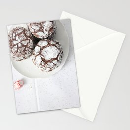 Chocolate candy cake cookies Stationery Cards