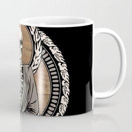 Starving Buddha - Wood Grain Coffee Mug