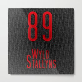 Bill & Ted's Wyld Stallyns 89 Metal Print