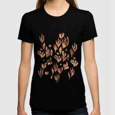 underwater plants Black Womens Fitted Tee X-LARGE