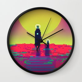 PHAZED PixelArt 2 Wall Clock