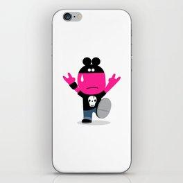 rat rock iPhone Skin