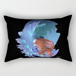Blue Shell Rectangular Pillow