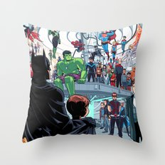 You'll Be Safe Here Throw Pillow