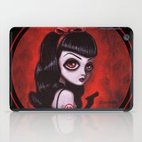 tina iPad Cases featuring 7-Tina by Dienzo Art