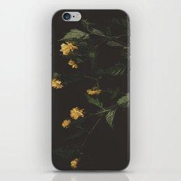 Yellow Night iPhone Skin