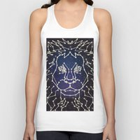 constellation Tank Tops featuring Lion Constellation by Domz Agsaway ( dragonhands )