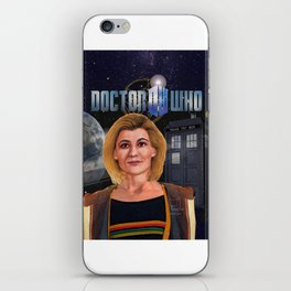 13th Doctor poster iPhone Skin