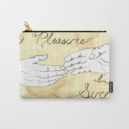 A Pleasure I'm Sure Carry-All Pouch