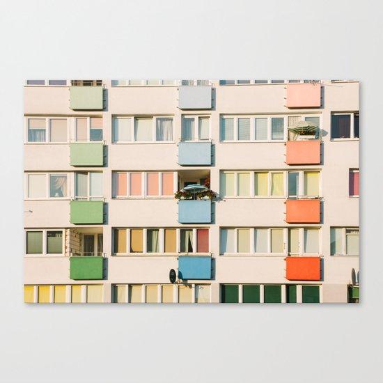 Apartment Life Canvas Print