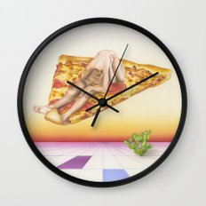 Pizza 69 Wall Clock