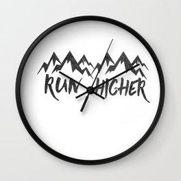 Run Higher  Wall Clock