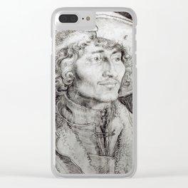 Albrecht Durer - Portrait Of An Unknown Man Clear iPhone Case