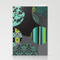 oriental Stationery Cards featuring Oriental by thickblackoutline