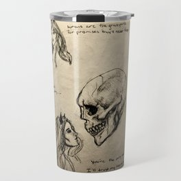 The Only Certainty pt II Travel Mug