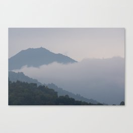Mount Tamalpais Tucked in Clouds Canvas Print