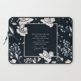 When the day shall come that we do part... Jamie Fraser Laptop Sleeve