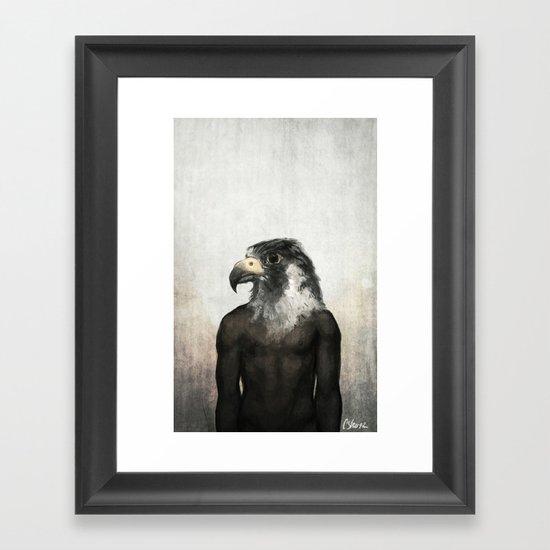 Horus (Alt) Framed Art Print