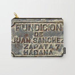 Foundry Plaque Carry-All Pouch