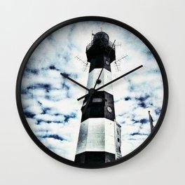 LIGHTHOUSE Nieuwe Sluis - Breskens Wall Clock