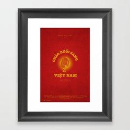Good Morning Vietnam! Framed Art Print