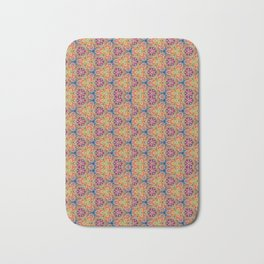 hippie - pattern colorfull Bath Mat