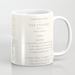 Werner's nomenclature of colour Coffee Mug