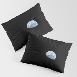 Apollo 8 - Iconic Earthrise Photograph Pillow Sham