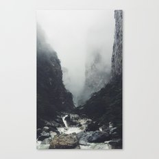 Back to you Canvas Print