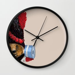 Monsieur L'Ours Wall Clock