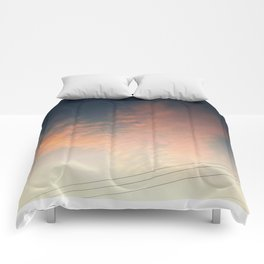 Heart at Sunset Comforters