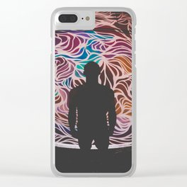 Open Your Mind Clear iPhone Case