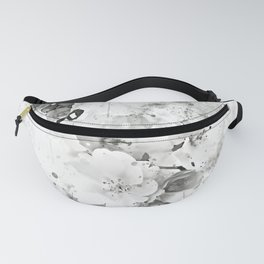 japanese cherry blossom wsbw Fanny Pack