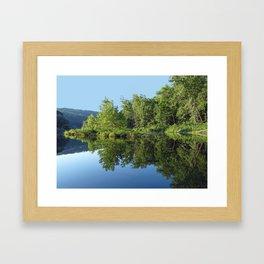 Crystal Clear Lake Killarney Framed Art Print