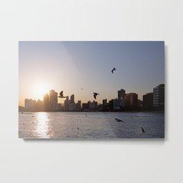 Haeundae Beach Skyline Metal Print