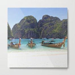 Maya Bay, Phi Phi Island Leh, Thailand Metal Print