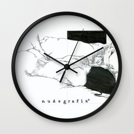 NUDEGRAFIA - 59  love Wall Clock