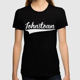 JOHNSTOWN Baseball Vintage Retro Font T-shirt