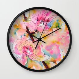 Exotic Beauty Wall Clock
