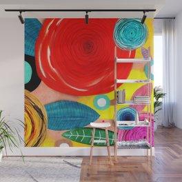 Glück kann man trainieren - Rupydetequila ultimative Farben Wall Mural