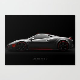 458 GT Canvas Print