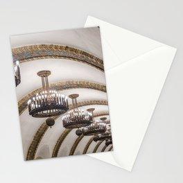 Kyiv subway Stationery Cards
